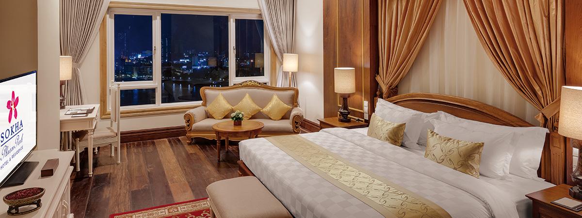 Royal Sokha Suite Bedroom