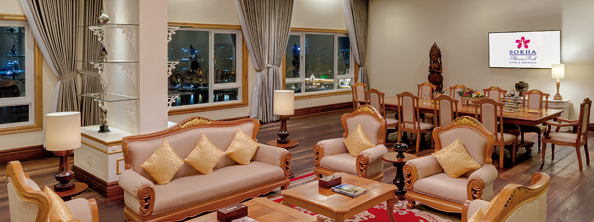 Royal Sokha Suite Lounge