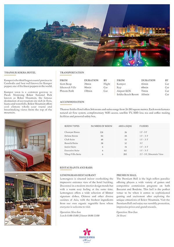 Hotel Fact Sheet 2018